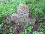 Вынисцы, каменный крест