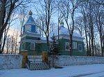 Заборье (Глубок. р-н), церковь св. Николая (дерев.), нач. XX в.