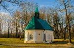 Залесье (Сморг. р-н), усадьба:   часовня католич. Девы Марии, 1815 г., 1920-30-е гг.