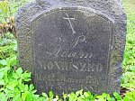 Зембин, могила ветерана 1863 г. Адама Монюшко