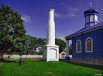 Антополь, церковь: мемориальная колонна, XIX в.?