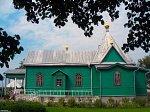 Аркадия, монастырь: церковь св. Афанасия (дерев.), кон. XIX-нач. XX вв.