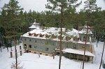 Барань (Борис. р-н), монастырь: жилой корпус, после 2005 г.