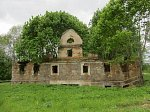 Бенюны, усадьба:  сыроварня (руины), XIX в.