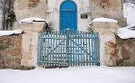 Бережно, церковь: брама и ограда, XIX в.?
