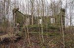 Березовка (Докшиц. р-н), часовня (дерев.; руины), XVIII в.