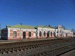 """Бобруйск, железнодорожный вокзал """"Березина"""", 1908 г."""