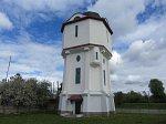 Богданов (Волож. р-н), железнодорожная станция: водонапорная башня, 1-я пол. XX в.