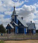 Болотчицы, церковь Спасо-Преображенская (дерев.), после 1990 г.