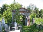 Бол. Берестовица, кладбище католическое:  брама, XIX-1-я пол. XX вв.