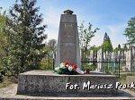Бол. Берестовица, кладбище католическое: памятник польским солдатам, 1996 г.