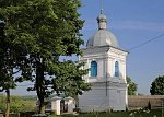 Бол. Шиловичи, церковь: колокольня, XIX в.