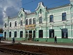 Борисов, железнодорожный вокзал, нач. XX в.