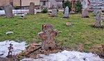 Докшицы, костел: каменный крест