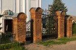 Дуниловичи, костел: брама и ограда, 1887 г.