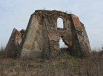 Гайтюнишки, часовня-усыпальница (руины), 1633 г. (1614?)
