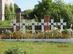 Германовичи, костел: могилы польских солдат, 1920-е гг.