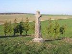 Глебовичи, каменный крест, 1888 г.?