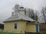 Грицевичи (Клецкий р-н), церковь св. Петра и Павла (дерев.), после 2000 г.