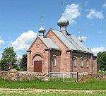 Грицевичи (Берест. р-н), церковь Крестовоздвиженская, 1997 г.