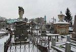 """Гродно, кладбище католическое """"фарное"""":  часовни-надмогилья, XIX-1-я пол. XX вв."""