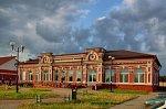 Гудогай (поселок), железнодорожная станция, нач. XX в.