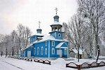 Хоростов, церковь Покровская (дерев.), 1992-96 гг.