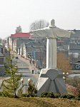 Ивье, монастырь бернардинцев: статуя Иисуса, 2002 г.