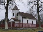 Калеты (Гродн. р-н), часовня католич. (дерев.), 1994 г.