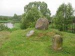 Камено (Вилей. р-н), мемориальный знак экспедиции Тышкевича 1857 г., 2007 г.