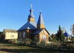 Казимирово (Жлобин. р-н), монастырь: церковь Успенская (дерев.), после 1995 г.