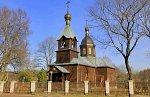 Киевец, церковь Троицкая (дерев.), 1919 г.