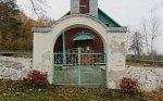 Клепачи (Слоним. р-н), церковь: брама и ограда, XIX в.?