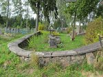 Константиново (Мядел. р-н), кладбище католическое:  ограда внутренняя