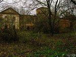 Красная Дуброва, усадьба: молочный завод (руины), XIX в.