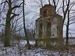 Круглое (Пружан. р-н), церковь: колокольня, XIX в.