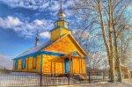 Кублищина, церковь старообрядческая Троицкая (дерев.), 1905 г.