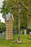 Лебедево, кладбище христианское: пилон брамы, нач. XX в.