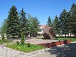 Ленино (Горецкий р-н), памятник на братской могиле  советских солдат