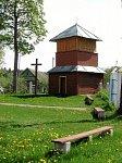 Леонполь, церковь:  колокольня (дерев.)