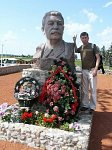 Лошаны, памятник Иосифу Сталину