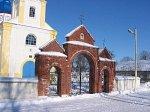 Лужки, церковь: брама, кон. XIX-1-я пол. XX вв.