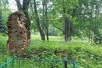 Мал. Борздынь, брама (?) (руины), XIX в.?