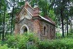 Мал. Борздынь, часовня-усыпальница Вишневских (руины), 1884 г.?