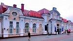 Молодечно, железнодорожный вокзал, 1907 г.