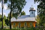 Мостище, церковь старообрядческая Успенская (дерев.), 1935 г.?