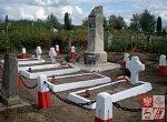 Мядель, могилы польских солдат: памятник, 1933 г.