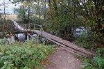 Нарочь (Вилей. р-н), мост подвесной (дерев.)