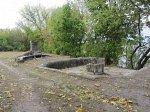 Наровля, усадьба: фонтан (руины), XIX в.