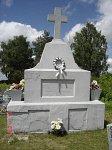 Ненадовичи, кладбище христианское: могилы польских солдат, 1920-е гг.